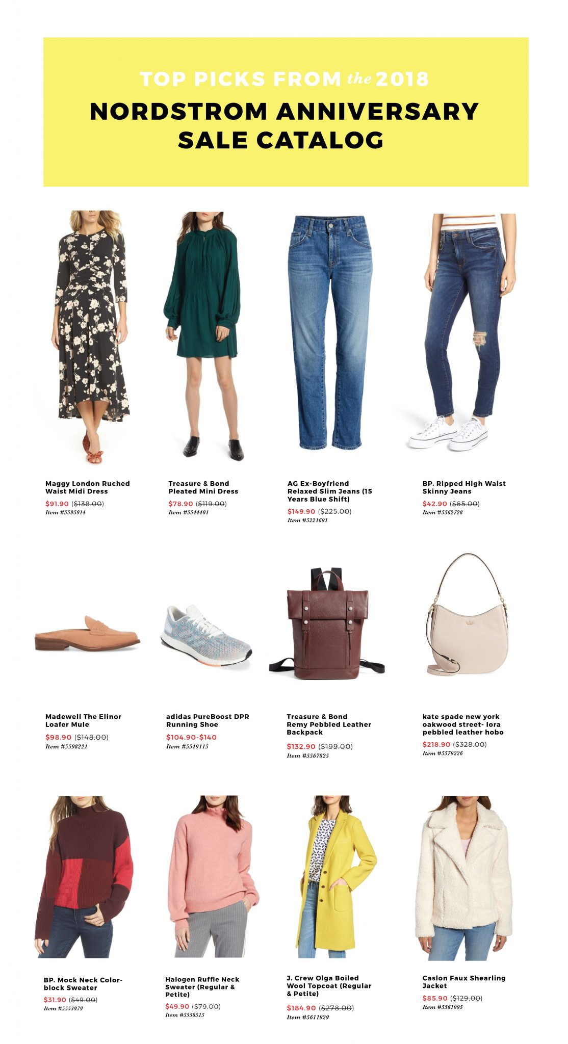 71950bc7ff Nordstrom Anniversary Sale 2018  My Top Catalog Picks featured by popular  San Francisco fashion blogger ...