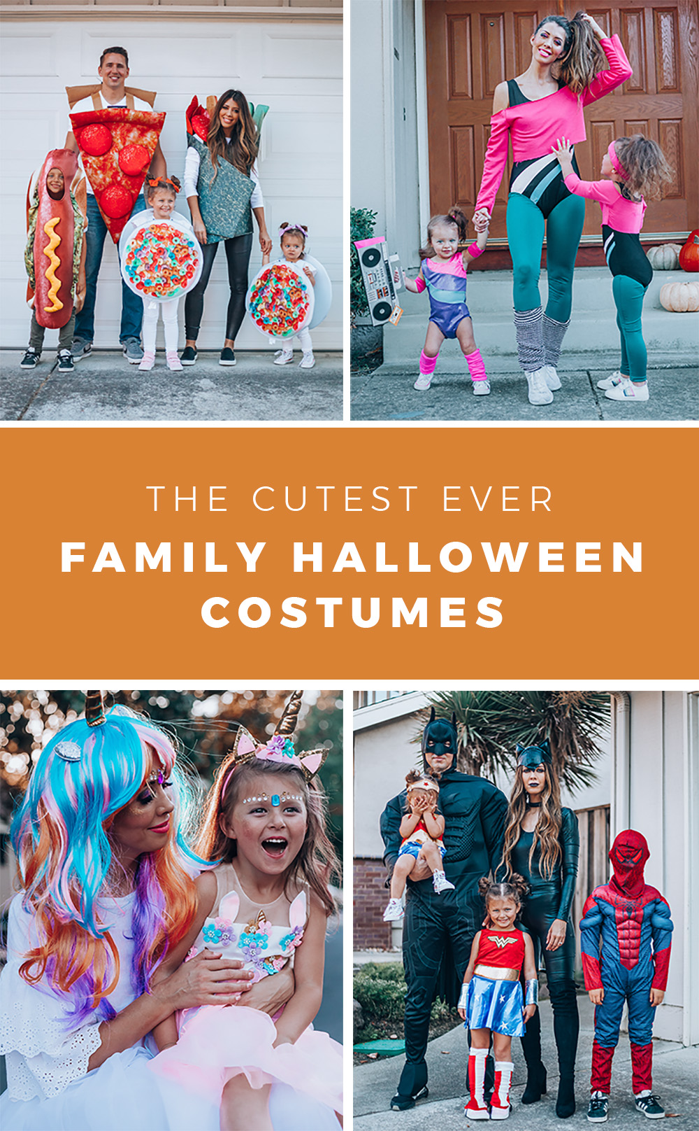 Family Of 4 Halloween Costumes 2019.4 Creative Family Halloween Costumes The Girl In The