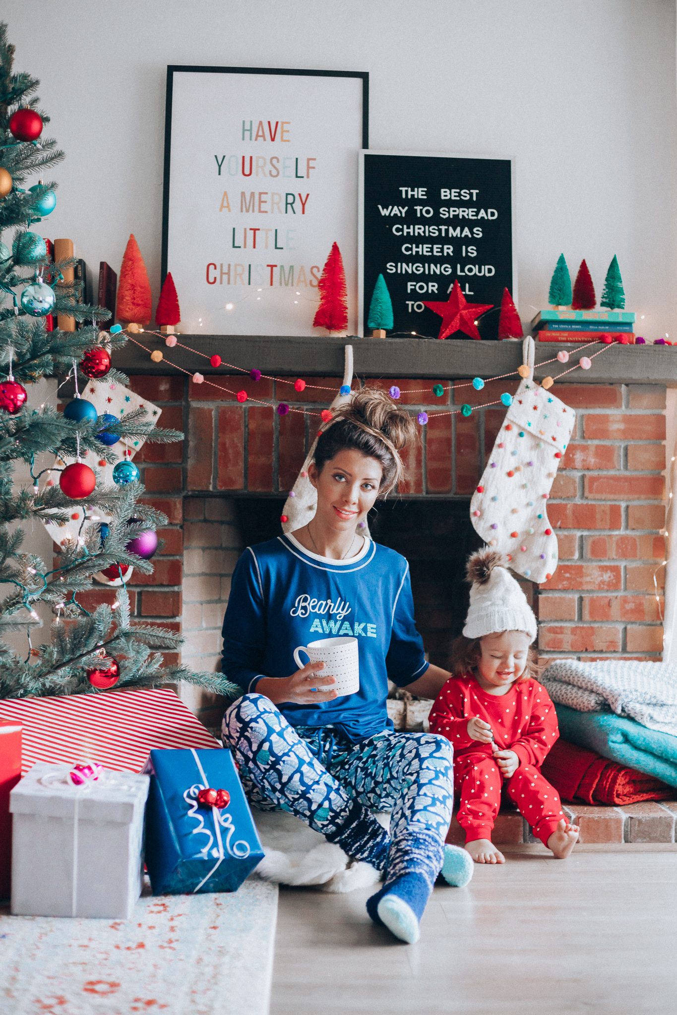 Qvc Home Decor Coziest Christmas Pajamas With Cuddl Duds The Girl In