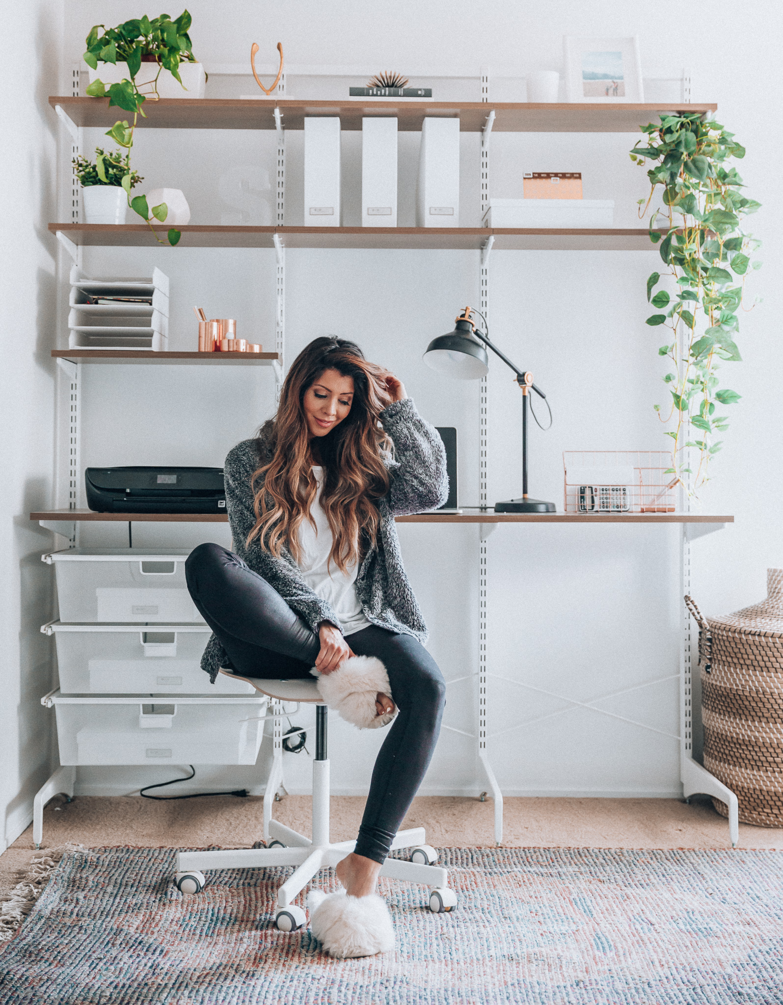 Modern Minimalist Home Office Space Ideas The Girl In The Yellow Dress